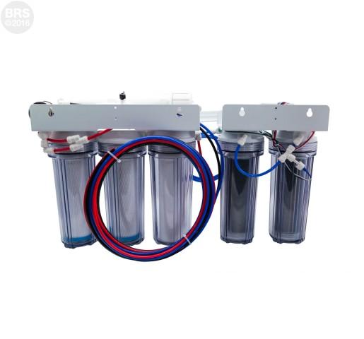 BRS 6 Stage Universal Water Saver Plus RO/DI System - 150GPD (RO/DI)