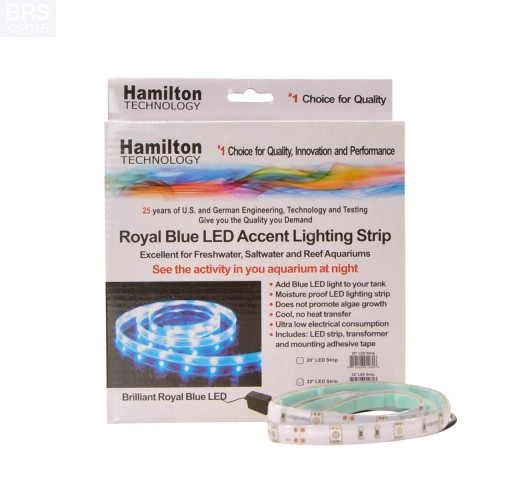 Hamilton LED Strip w/Transformer (Bright Royal Blue)