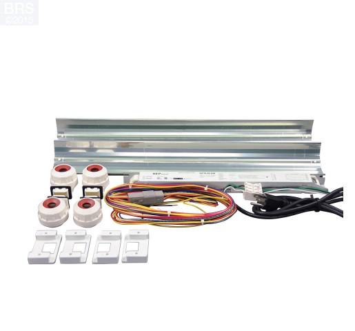 2 Ft LET Lighting Miro-4 T5 High Output Retrofit Kit