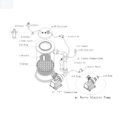 """Super Reef Octopus CR3000 8"""" Calcium Reactor"""