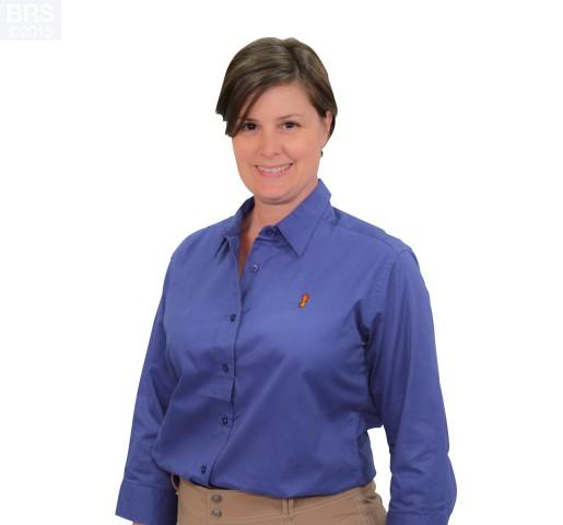 Women's 3/4 Sleeved Dress Shirt