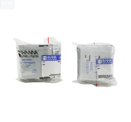 HI771-25 Total Chlorine UHR reagents - Fresh Water