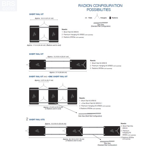 EcoTech Radion XR30W +One Short Rail Kit