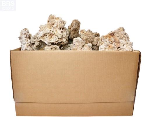 BRS Bulk Fiji Dry Live Rock - 50LB Box