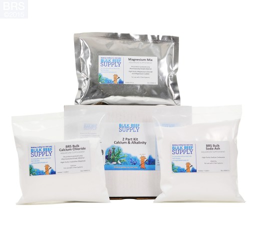 Replacement Pouches for 2 Part Calcium & Alkalinity Kit