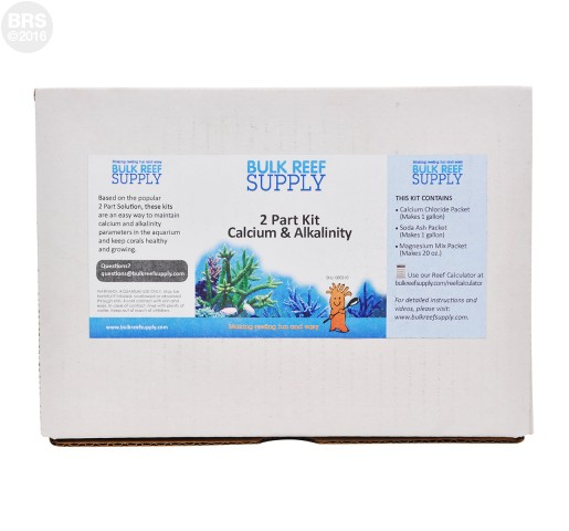 BRS 2 Part Calcium & Alkalinity Kit (Pre-portioned)