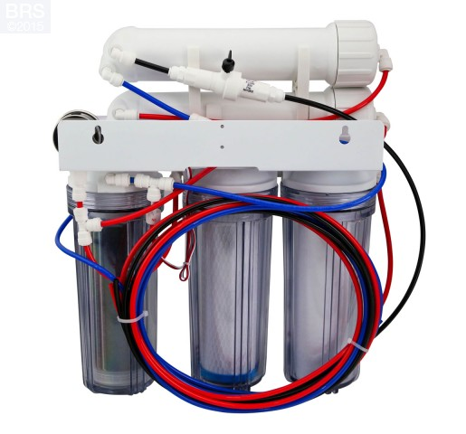BRS 4 Stage Value Water Saver Plus RO/DI System - 150GPD (RO/DI) Product Features