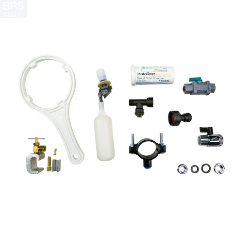 BRS 6 Stage Universal RO/DI System - 75GPD (RO/DI) Product Features