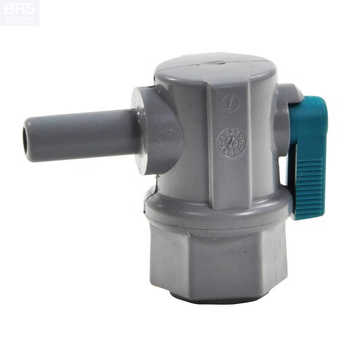 Elbow Ball Valve Male NPT x Push Connect