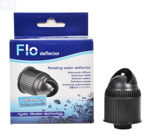 FLO Rotating Water Deflector Front