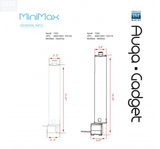 MiniMax All-in-One Media Reactor from Innovative Marine