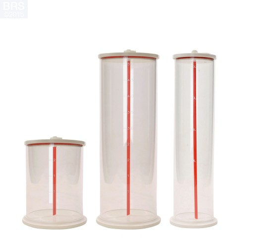 Vertex Dosing Vessel Storage Containers - 3 Sizes