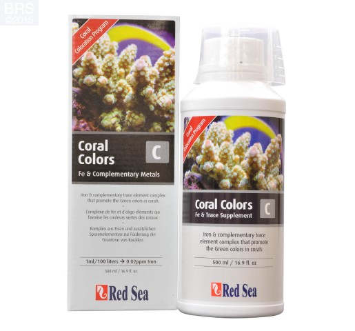 500 mL of Red Sea Coral Colors C
