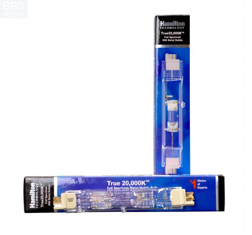 Hamilton Metal Halide 20K Double End Bulb