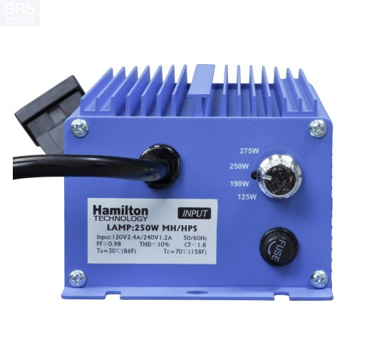Hamilton Metal Halide 250W Adjustable Electronic Ballast - Assembled