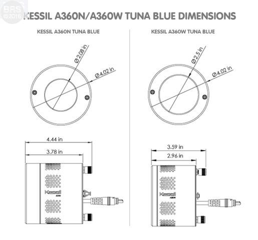 Kessil A360N-E Tuna Blue LED Aquarium Light