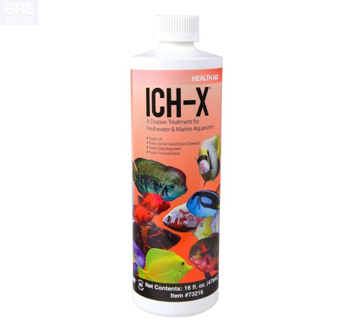 16 oz Ich-X Water Treatment - Hikari