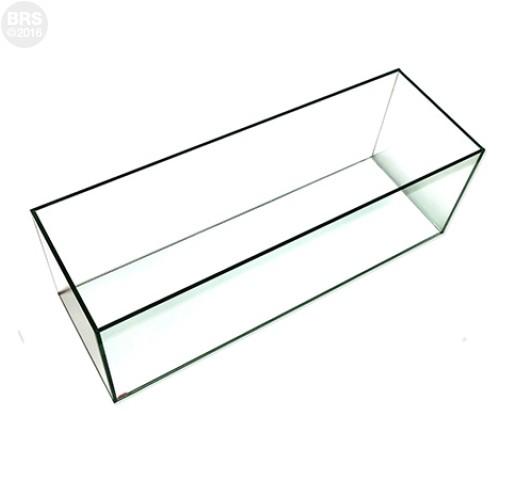12 Gallon Bookshelf Rimless Tank - Standard Glass