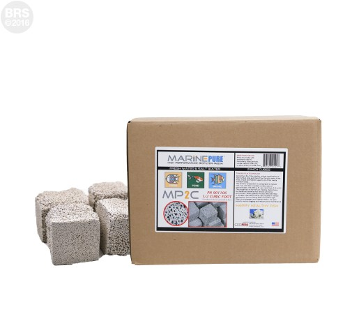 "MarinePure Ceramic Biomedia 2"" Cubes"