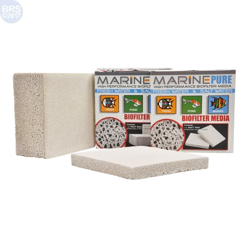MarinePure Ceramic Biomedia Plates  - Two Sizes