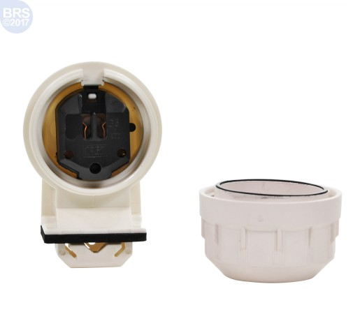 Single Waterproof Socket for T5 Bulbs (Stand Off Included)