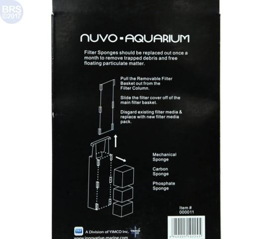 Nuvo Aquarium Filter Media for Pico & Nano Tanks
