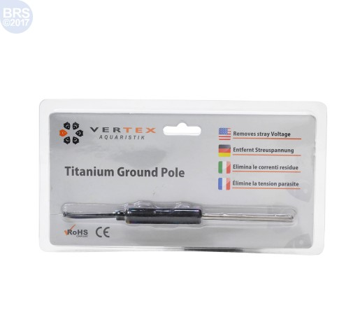 Vertex Titanium Grounding Pole