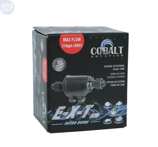 E-X-T 800 Inline Pump - Cobalt Aquatics