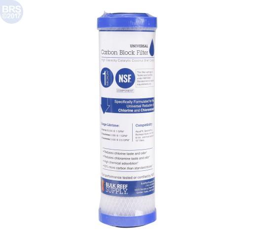 BRS Universal Carbon Block Filter - 1 Micron (RO/DI)