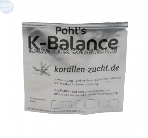 Pohl's K-Balance Potassium Concentrate Automatic Elements