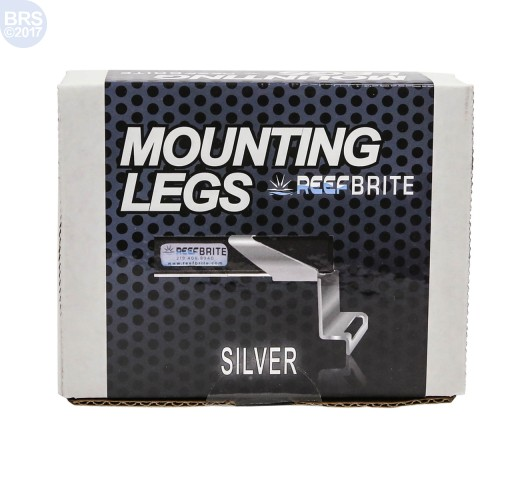 Silver LED Tank Mounting Legs - Reef Brite