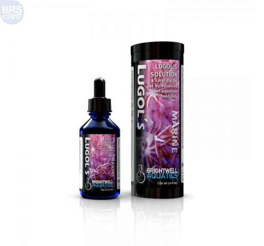 Lugol's Solution - Advanced Iodine for Reef Aquaria Brightwell aquatics