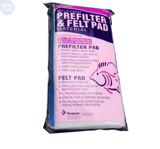 Prefilter and Felt Combo 12 x 12 in - Lifegard