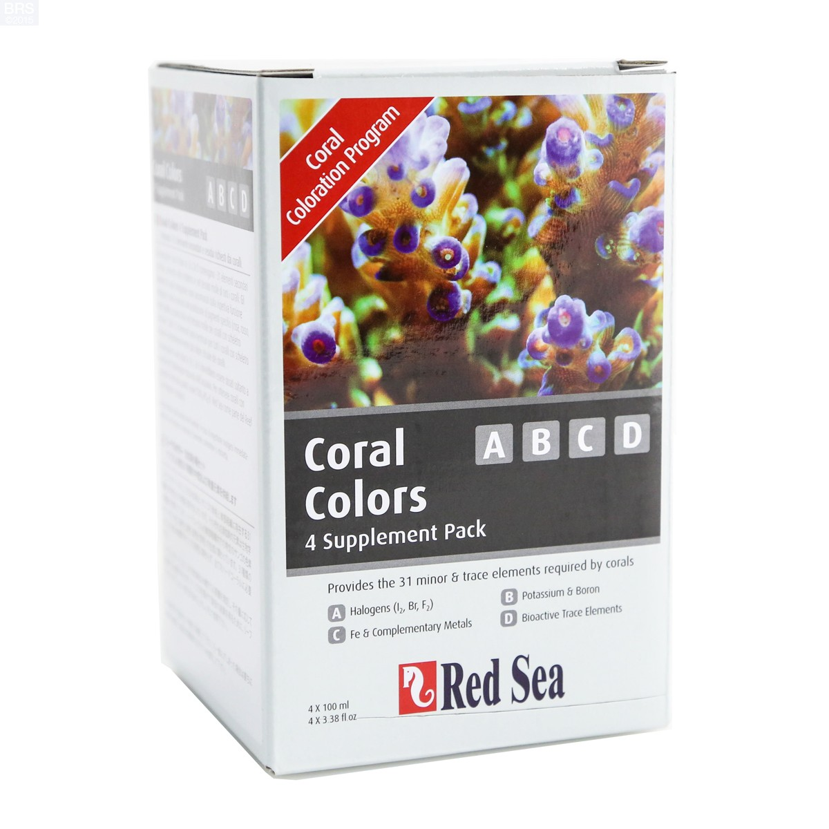 Red Sea Coral Colors Abcd  Pack