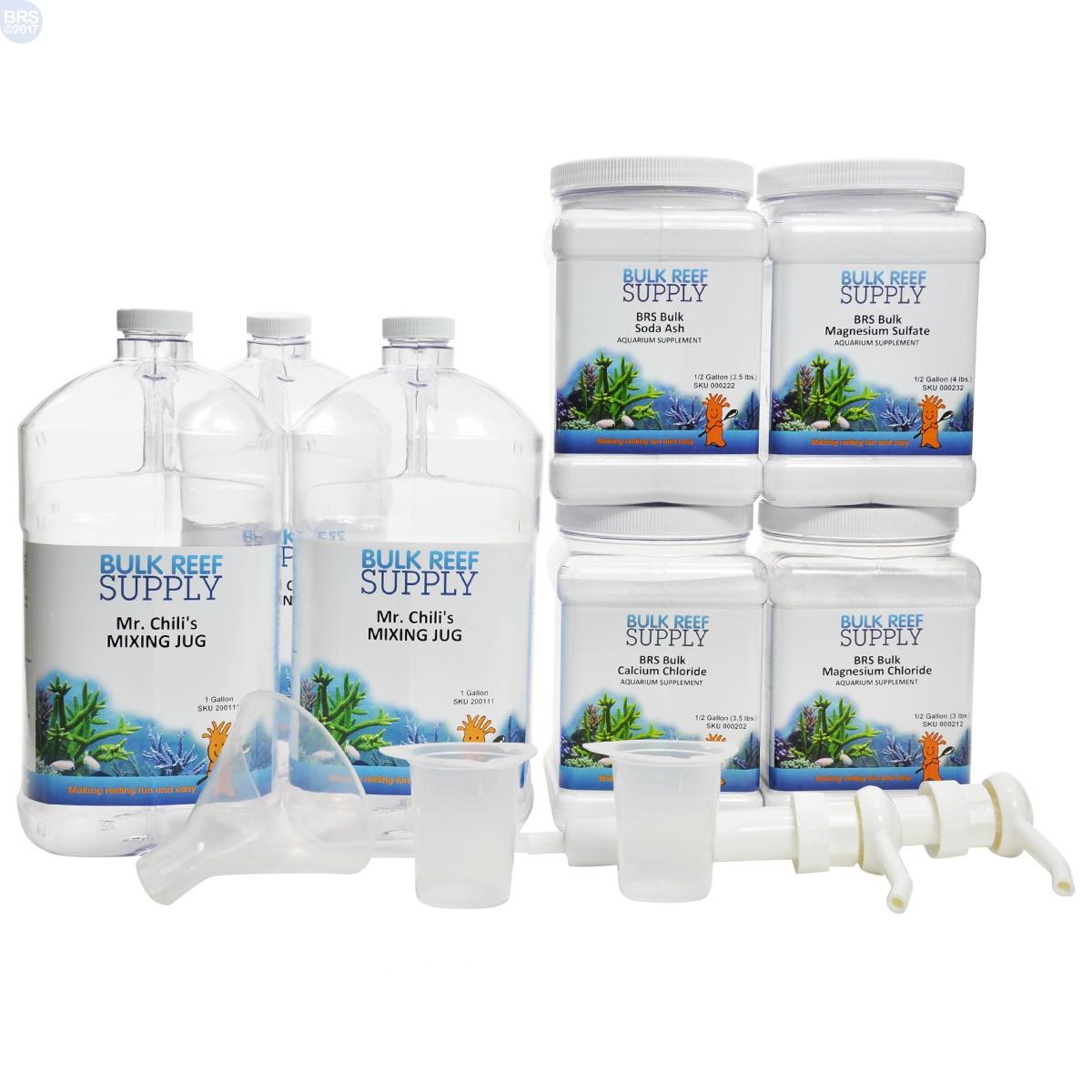 Brs 2 Part Calcium Amp Alkalinity Total Package Bulk