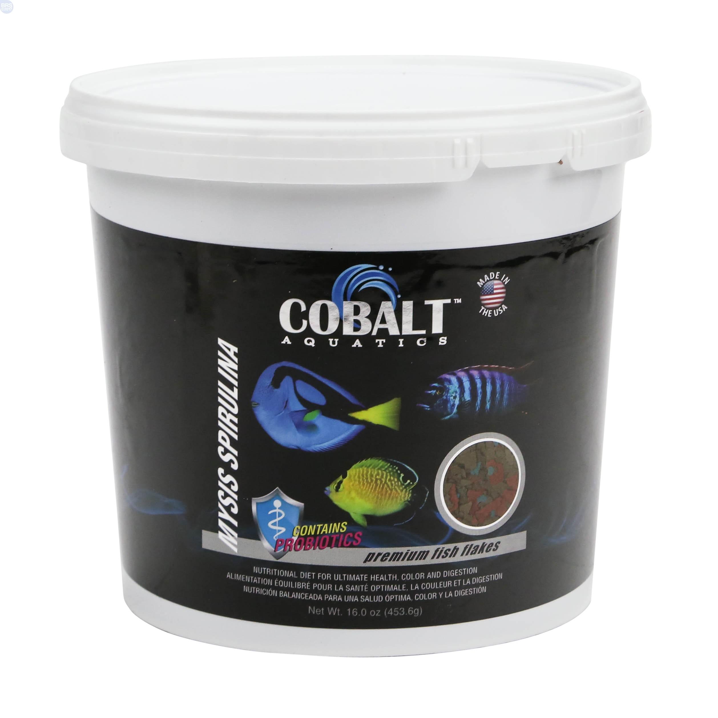 Mysis spirulina flakes fish food cobalt aquatics bulk for Spirulina fish food