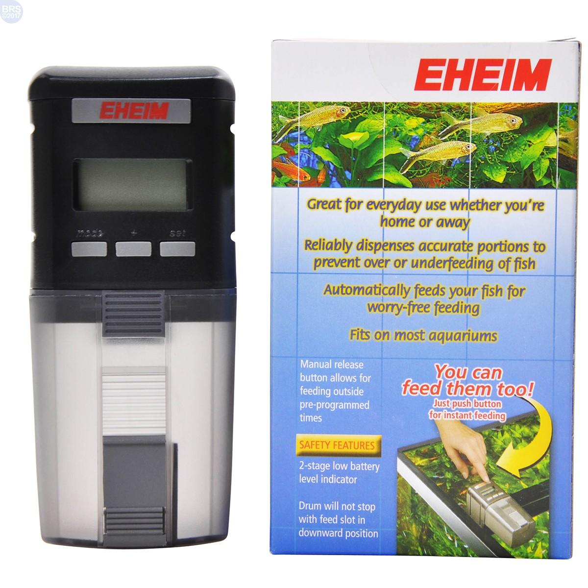 Everyday fish feeder eheim automatic feeders fish for Eheim fish feeder