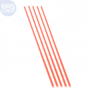 Acrylic Coral Pointer (Red) - 5 Pack