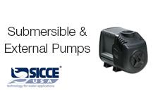 Submersible & External Pumps