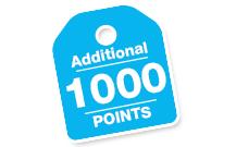 1000 Additional Bonus Points