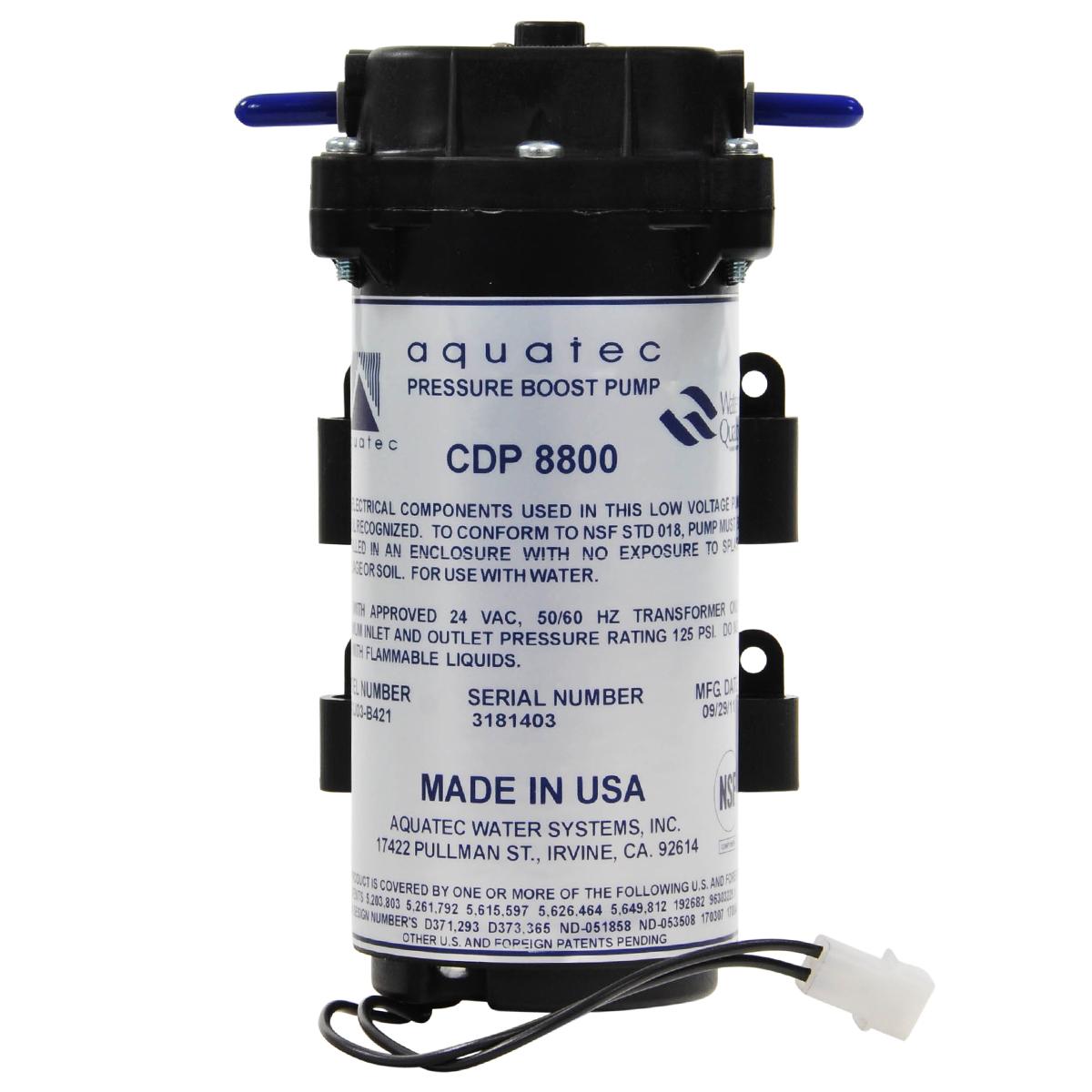 1 4 Quot Aquatec 8800 Booster Pump Bulk Reef Supply