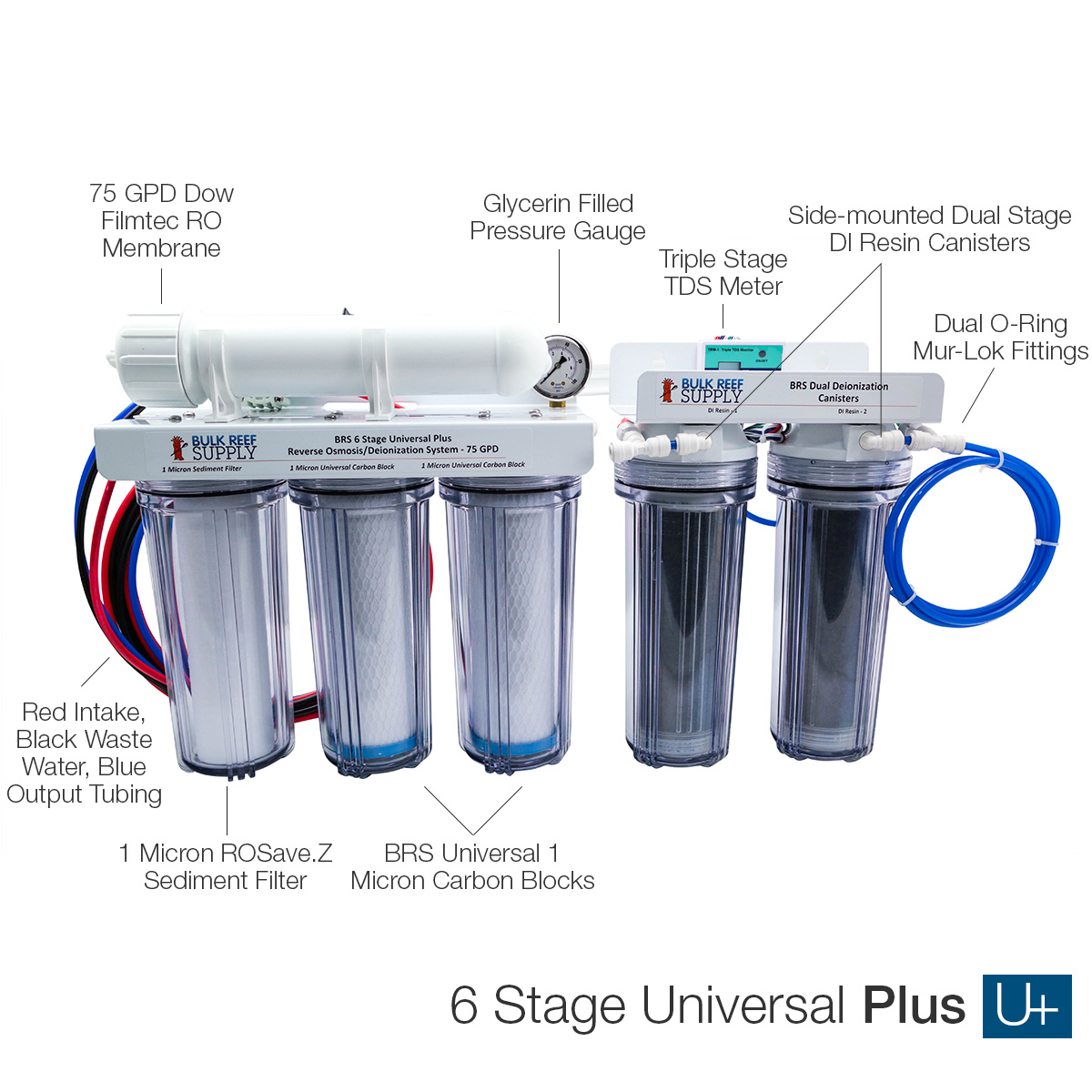 Brs 6 Stage Universal Plus Ro Di Chloramines System