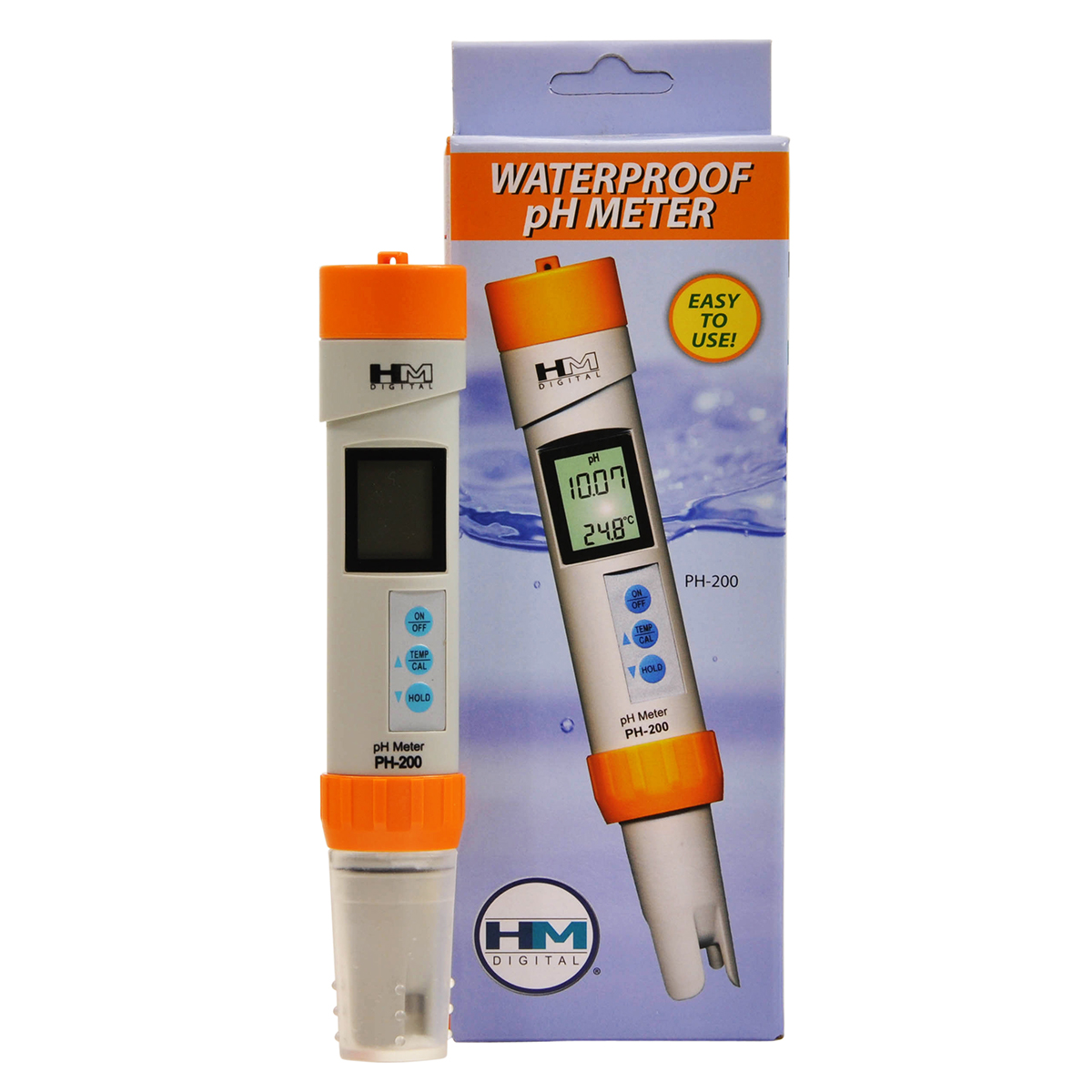 Waterproof Ph Meters : Ph waterproof meter hm digital bulk reef supply