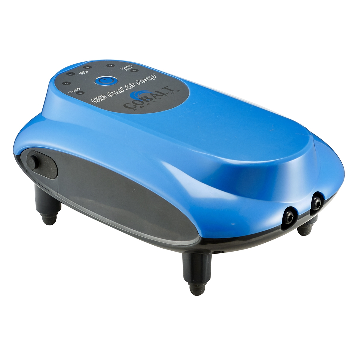 Usb Battery Powered Dc Air Pump Dual Output Cobalt