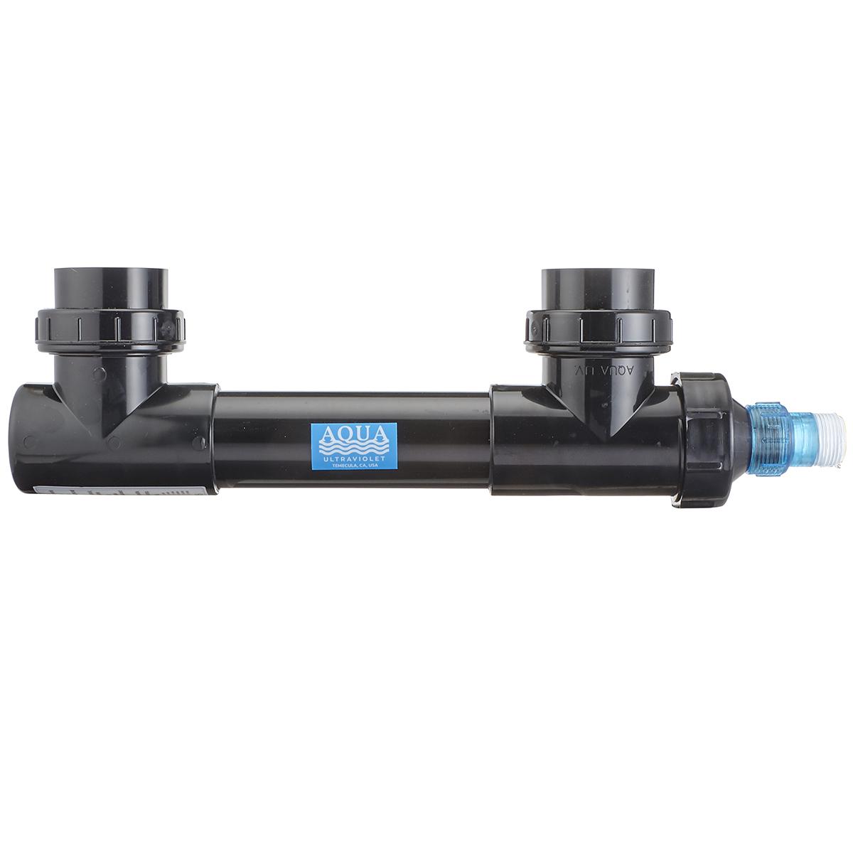 25 Watt Classic Uv Sterilizer Black Body Aqua