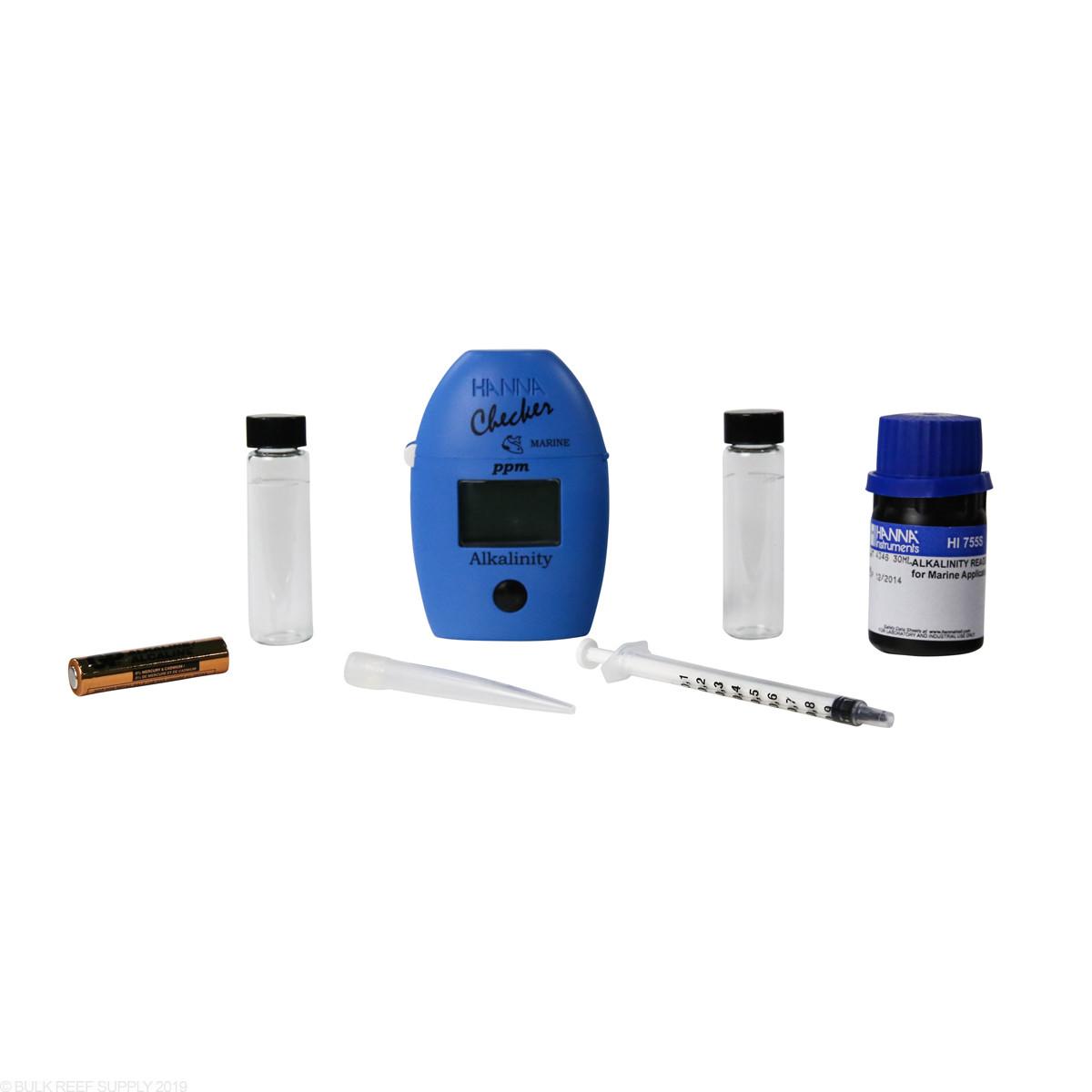 hanna checker alkalinity colorimeter bulk reef supply
