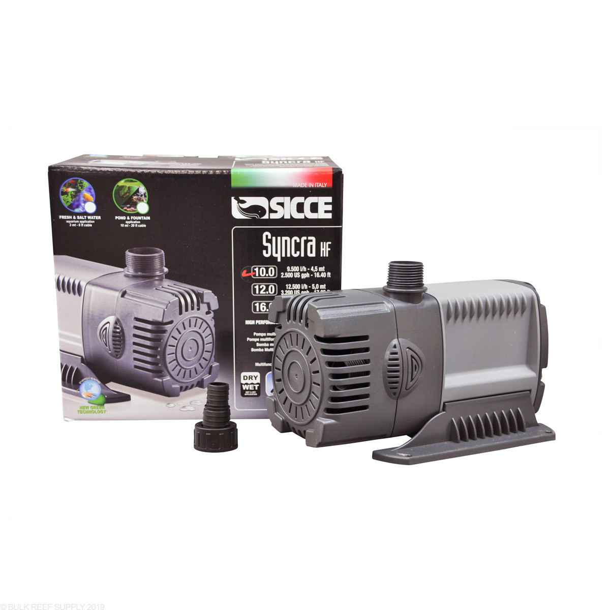 Pumps (water) Syncra 0.5 Water Pump 185gph Cheap Sales 50% Fish & Aquariums Sicce Syncra Silent Pump