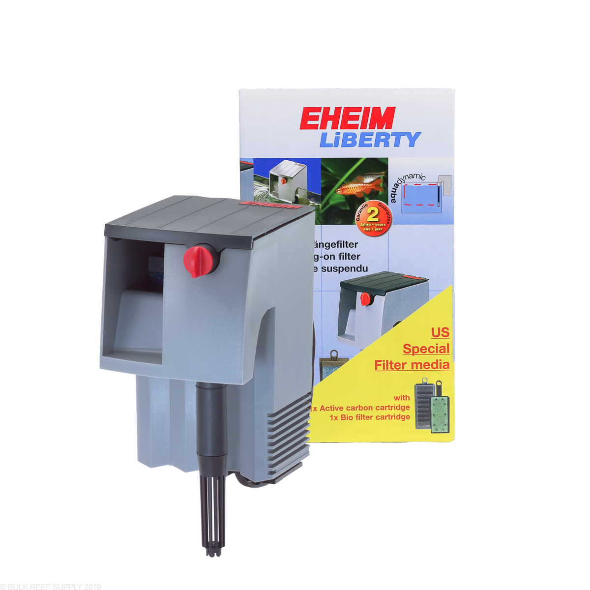 Häufig Liberty 75 HOB Power Filter - Eheim - Bulk Reef Supply RU49