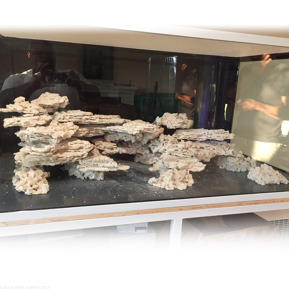 Reef Saver Shelf Aquarium Dry Live Rock - MarcoRocks ...