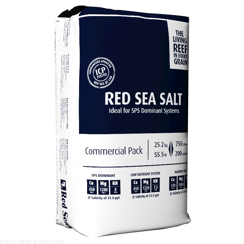 red sea coral pro salt bulk reef supply